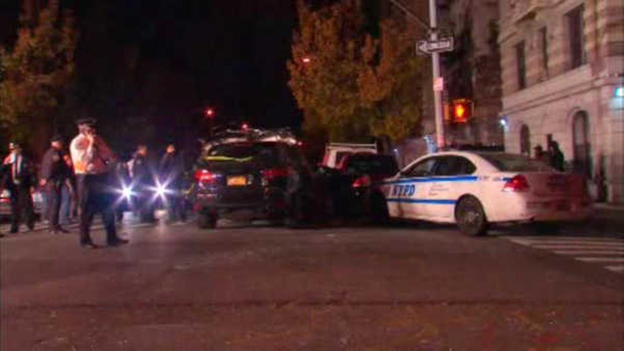 3 police officers hurt in Washington Heights crash involving unmarked police car