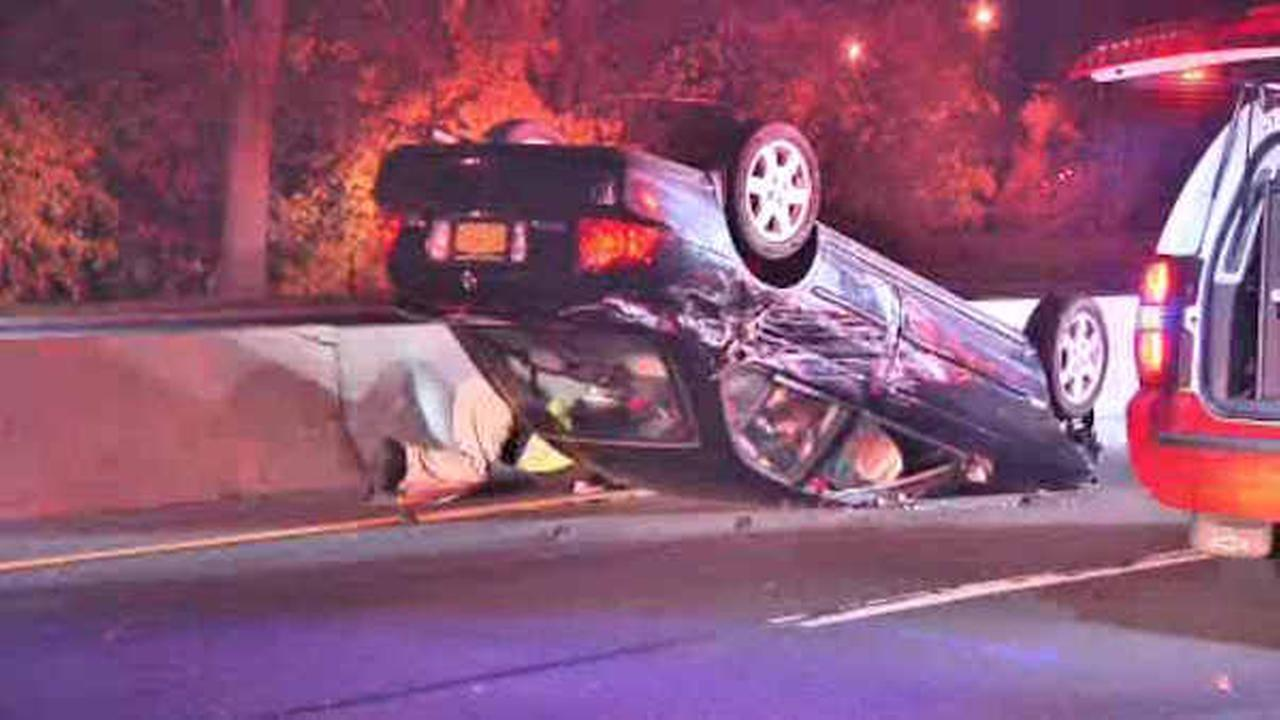 Woman involved in Long Island crash killed after going back to her car