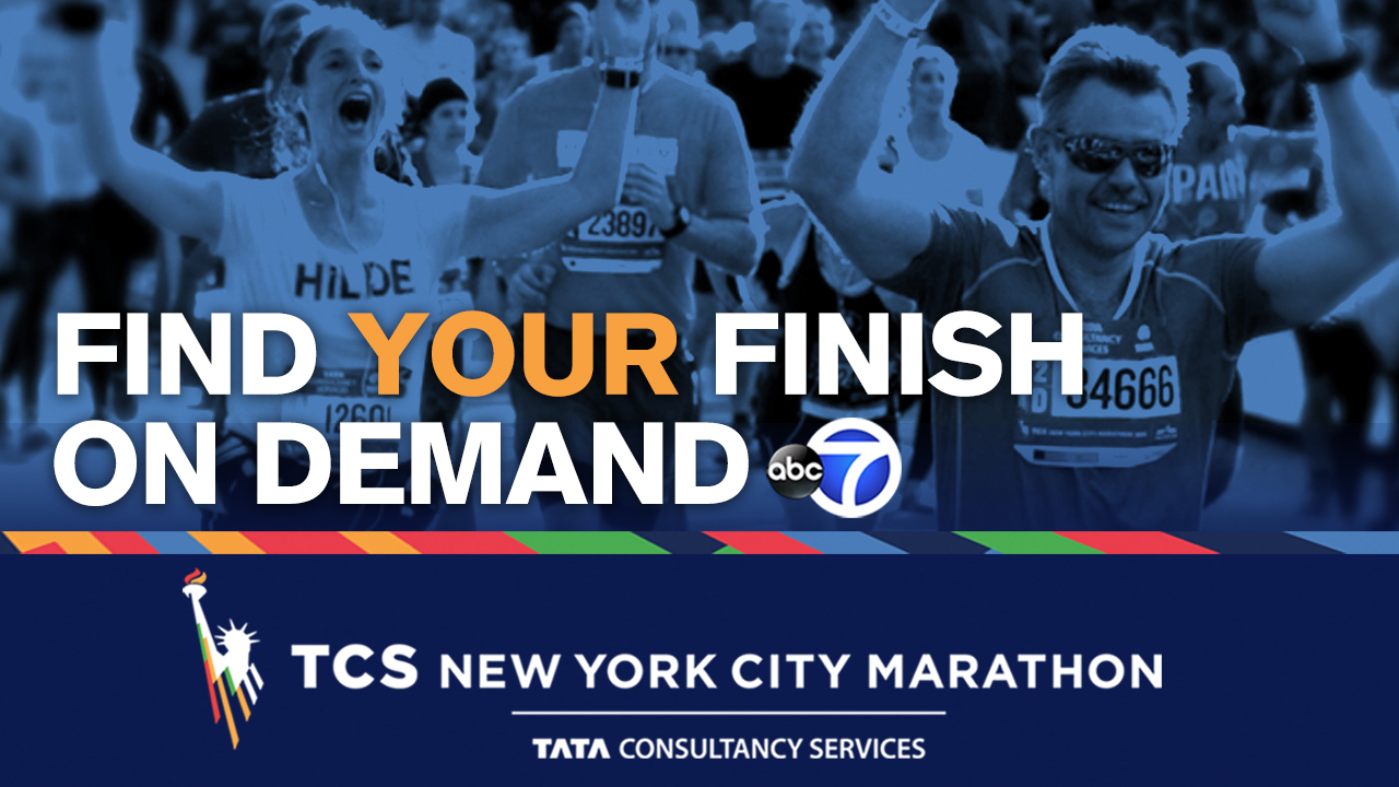 Find Your Finish on Demand! Watch runners crossing the finish line in the 2018 TCS New York City Marathon!