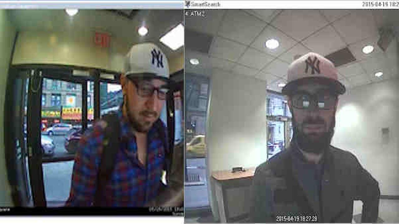 Two wanted in ATM skimmings in Brooklyn, Queens
