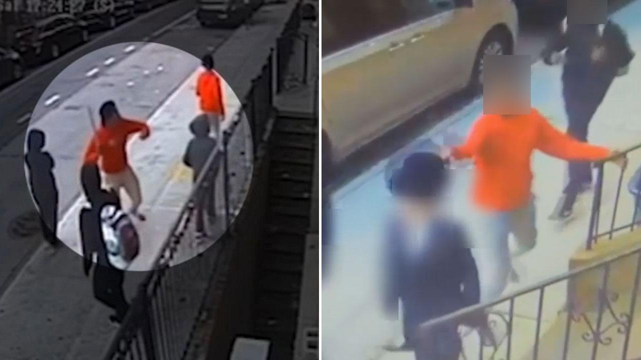 Police: Teens throw metal pipe at Brooklyn synagogue window