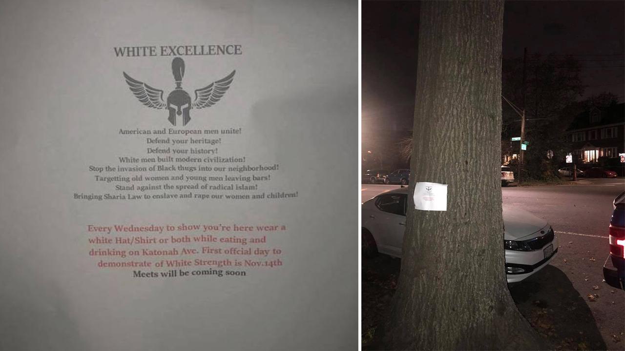 Pro-white supremacist flyers found in Van Cortlandt Park