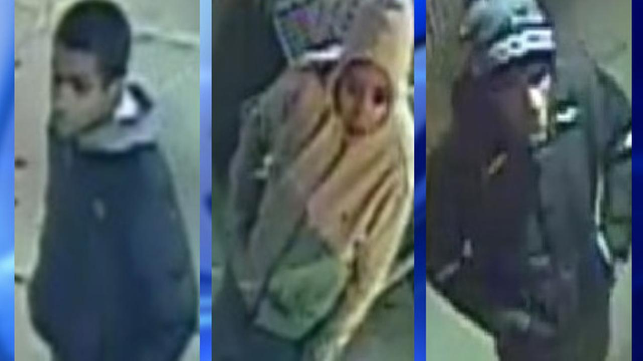 2 men and 1 woman wanted for robbing Staten Island teen of cell phone