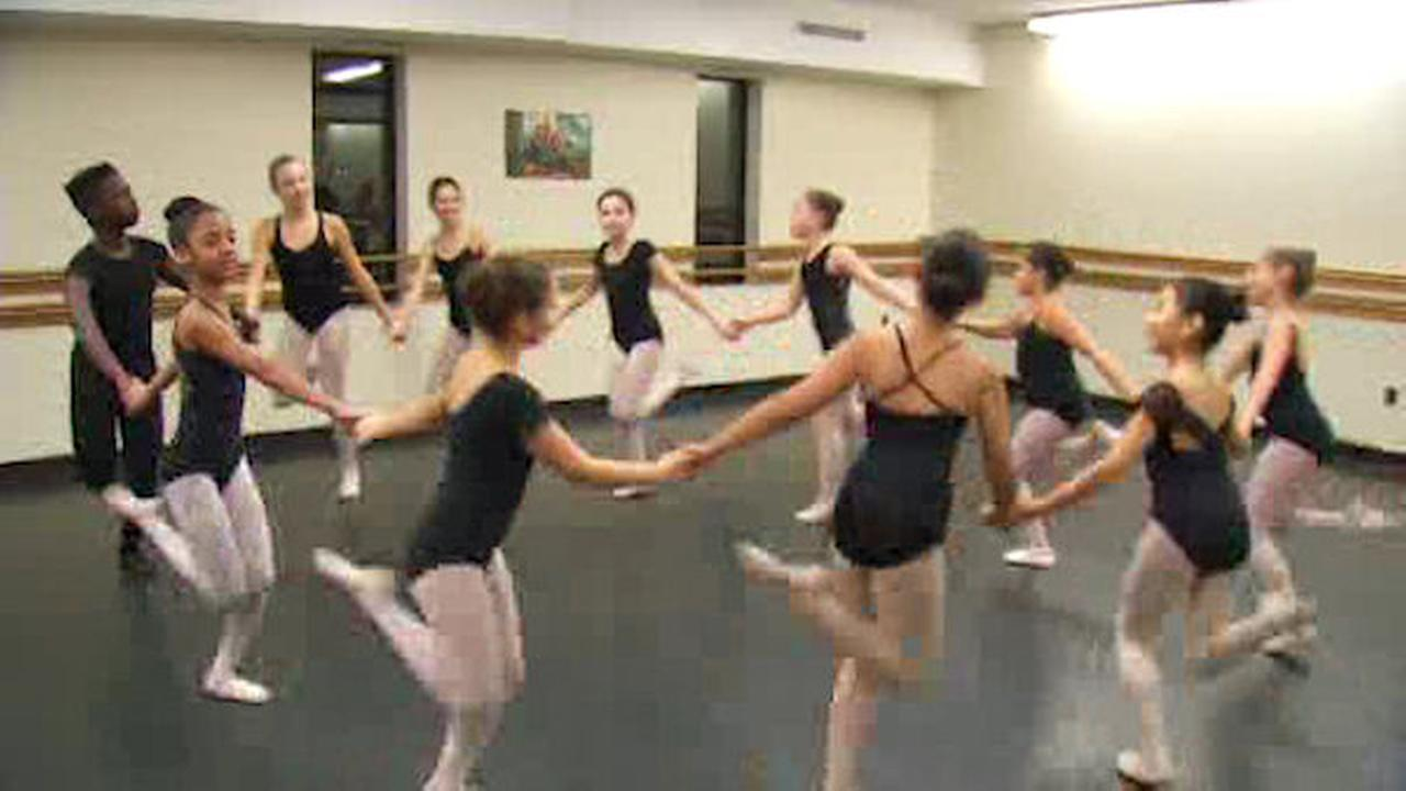 Brighton Ballet Theater students performing alongside Moscow Ballet in 'The Nutcracker'