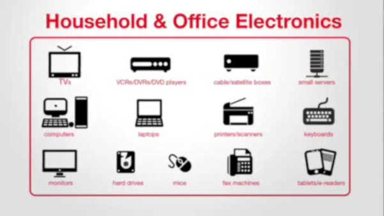 Here's where you can throw out your old electronics