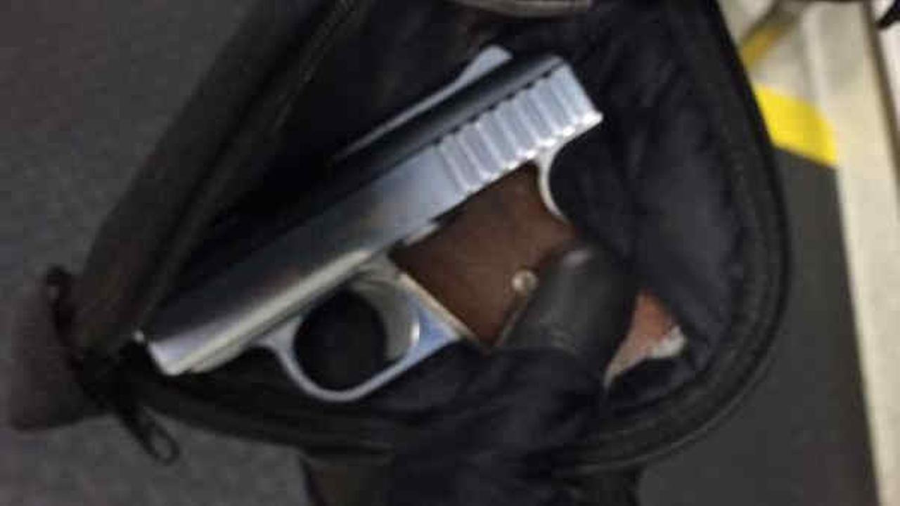 Man arrested after being found with loaded gun at Newark Airport