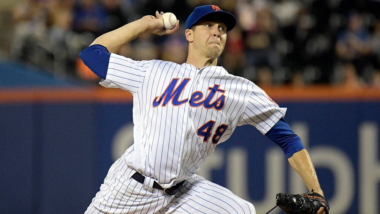 New York Mets pitcher Jacob deGrom wins National League Cy Young award