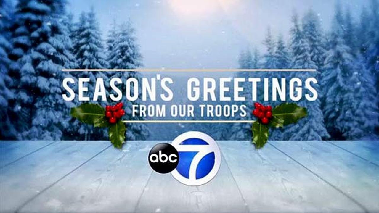 2016 Troop Greetings