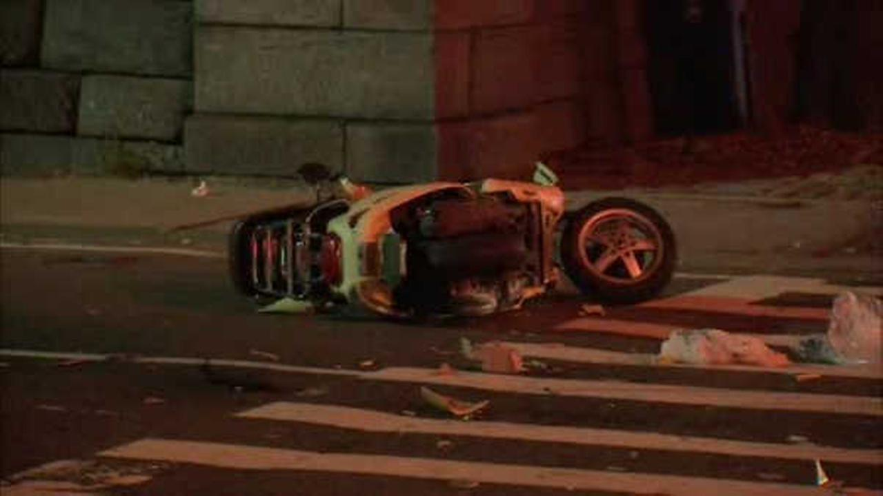 Scooter driver critically injured in collision with SUV on Upper East Side