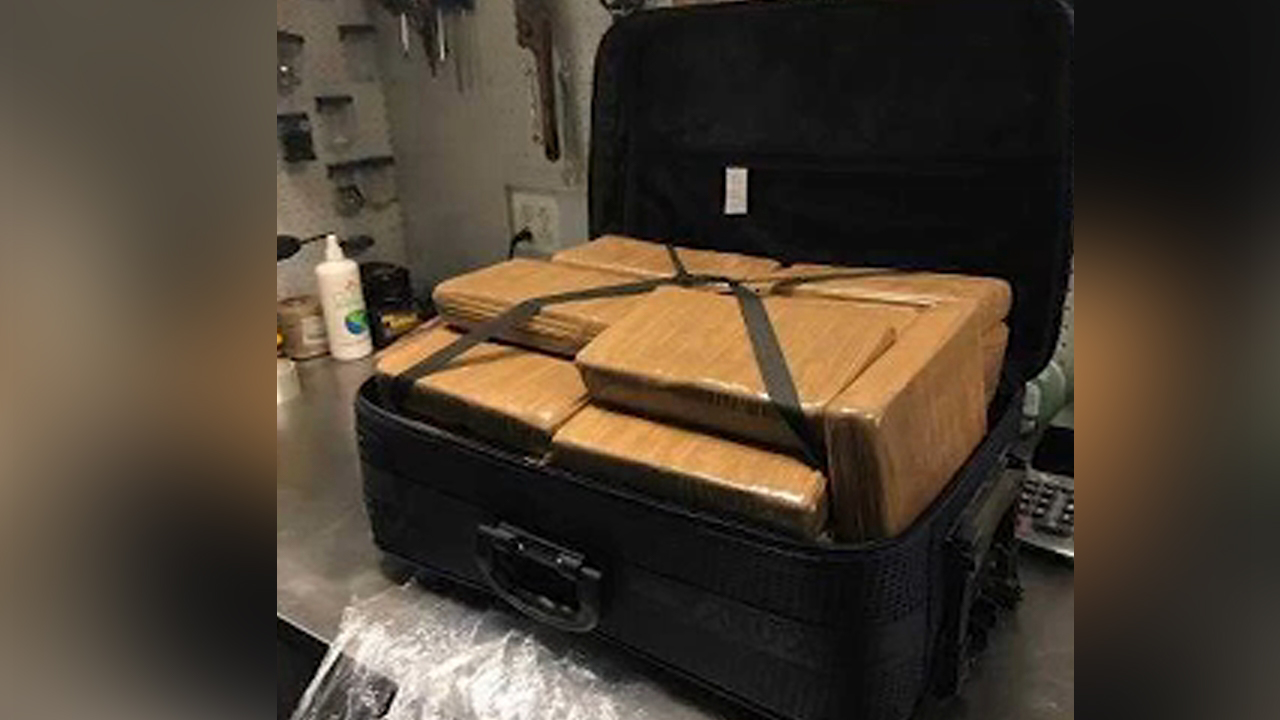 Police looking for owner of suitcase found at JFK Airport filled with cocaine