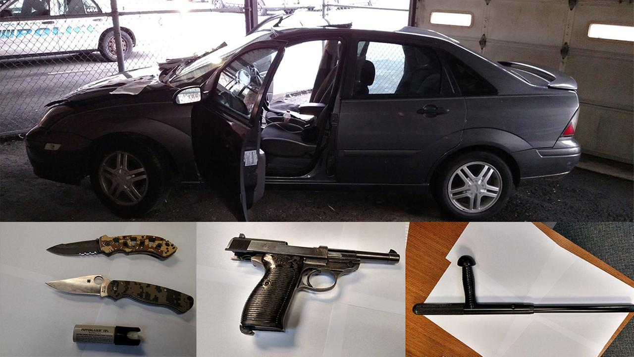 Teens arrested with cache of weapons in Ramapo believed to be behind string of car break-ins