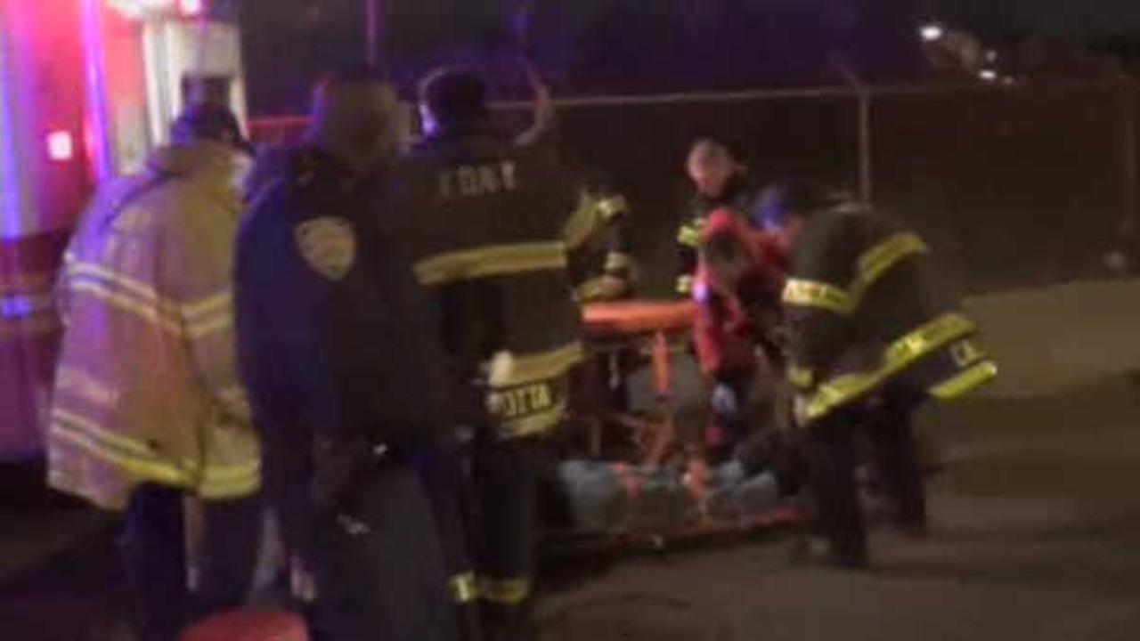 Boater in serious condition after water rescue in Far Rockaway