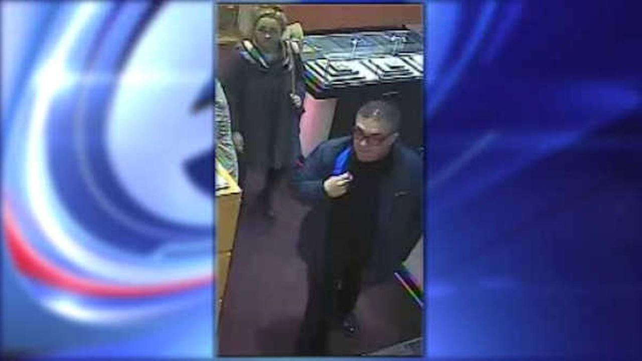 Suspects sought in jewelry theft at Madison Avenue store