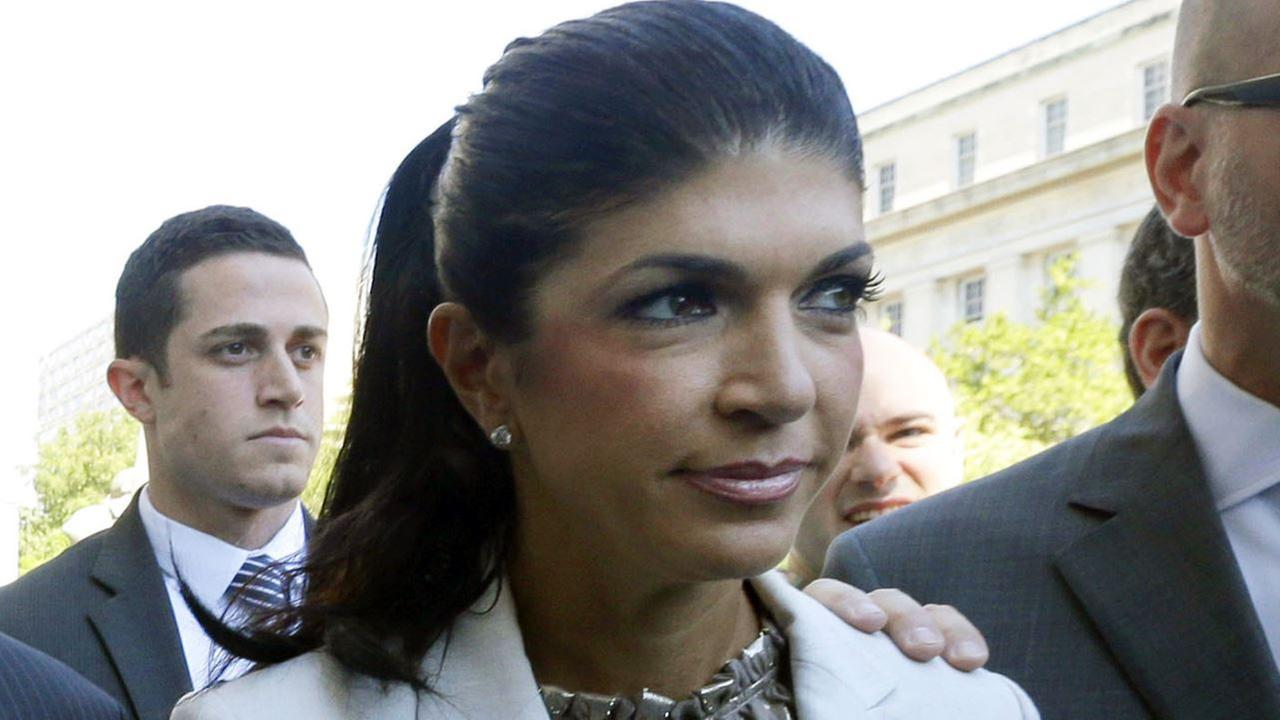 In this July 30, 2013 file photo, The Real Housewives of New Jersey star Teresa Giudice, 41, of Montville Township, N.J., walks out of Martin Luther King, Jr. Courthouse.