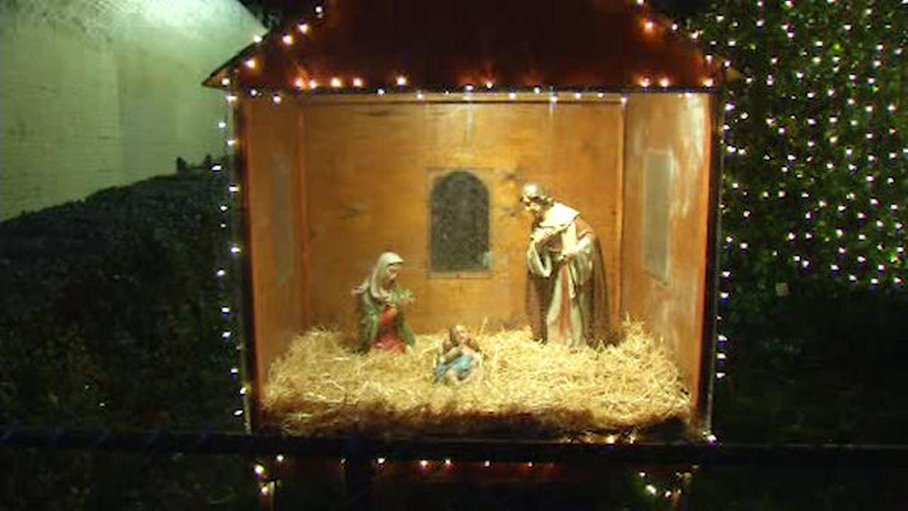 Homeless man accidentally damages Inwood church's Nativity scene looking for somewhere to sleep