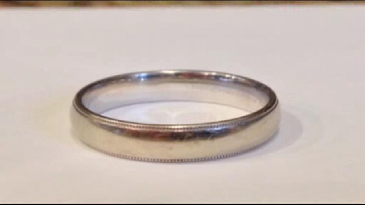 New York couple finds wedding ring inside pants ordered online from Virginia