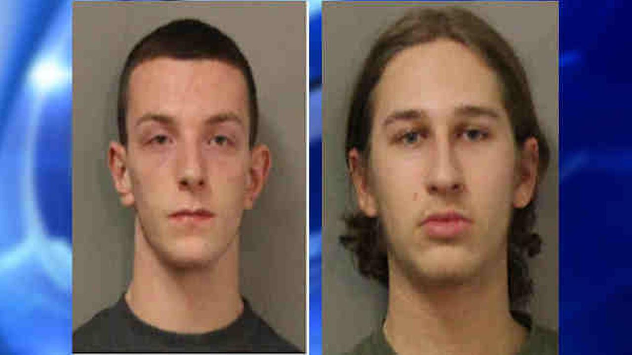 2 arrested after brick crashes into cars on Meadowbrook Parkway in Uniondale