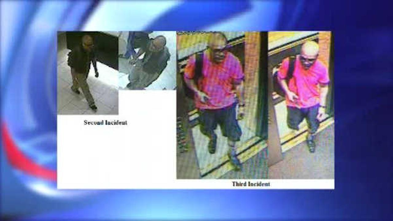 Police search for man accused of burglarizing hotels in Midtown