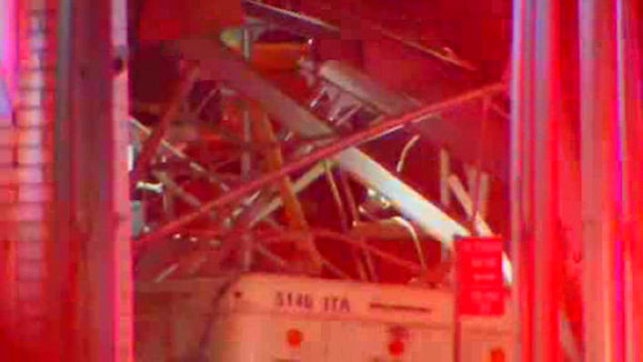 One injured after ambulette crashes into scaffolding on Upper East Side