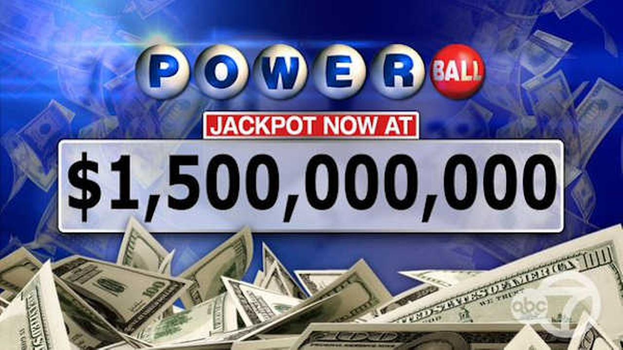 Powerball jackpot for Wednesday's drawing soars to $1.5 billion