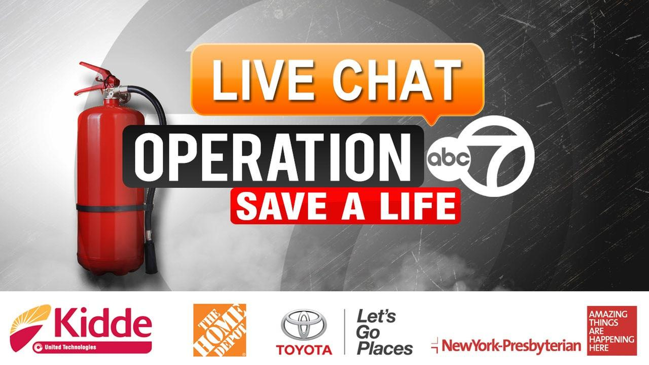 WEB CHAT: 'Operation 7: Save a Life'