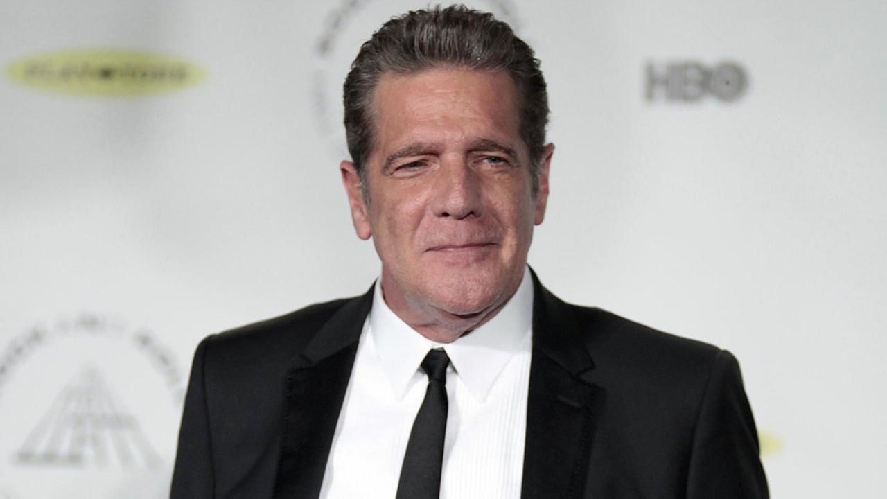 In this April 10, 2014 file photo, Glenn Frey appears at the 2014 Rock and Roll Hall of Fame Induction Ceremony in New York.