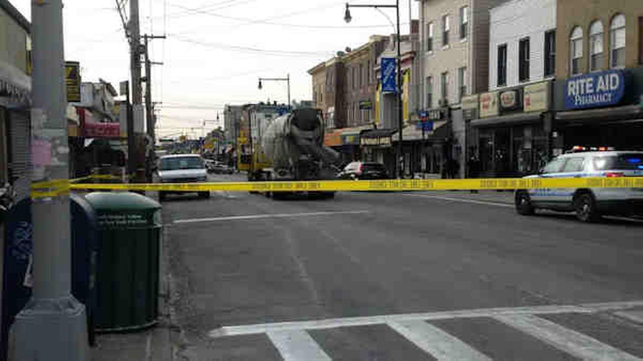 Pedestrian fatally struck by cement truck in College Point, Queens