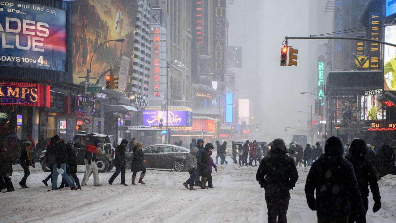 Broadway cancels shows Saturday night amid blizzard