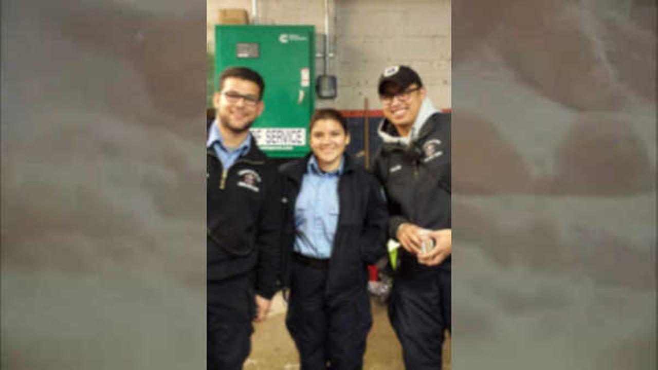 From left to right: Anthony Grasso, Scarlett Guajala, Michael Vales