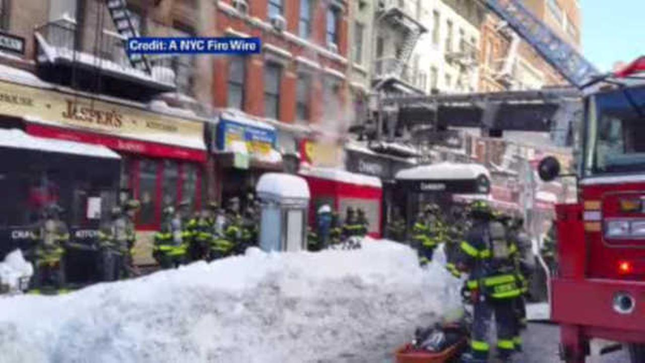 Fire destroys popular Hell's Kitchen eatery, Empanada Mama
