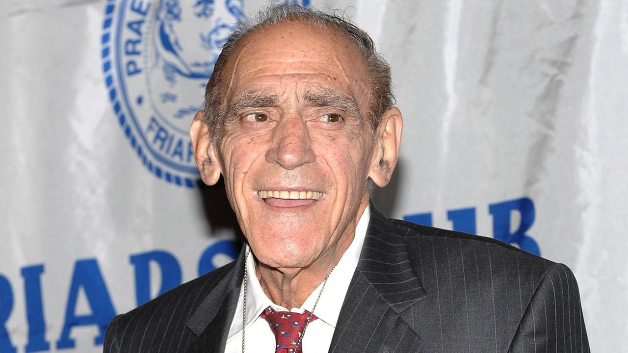 Actor Abe Vigoda attends the Friars Club Roast of Today Show host Matt Lauer on Friday, Oct. 24, 2008 in New York.