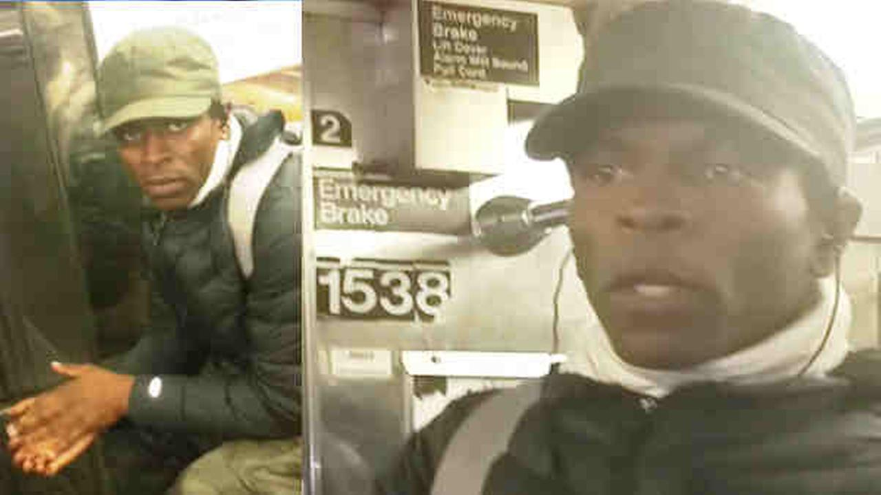 These are an NYPD-released photos of the suspect in the attack on a Brooklyn subway.
