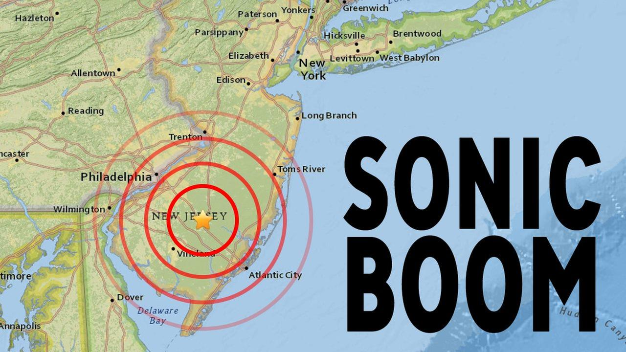 Navy says flight testing may have resulted in sonic booms along N.J. coastline