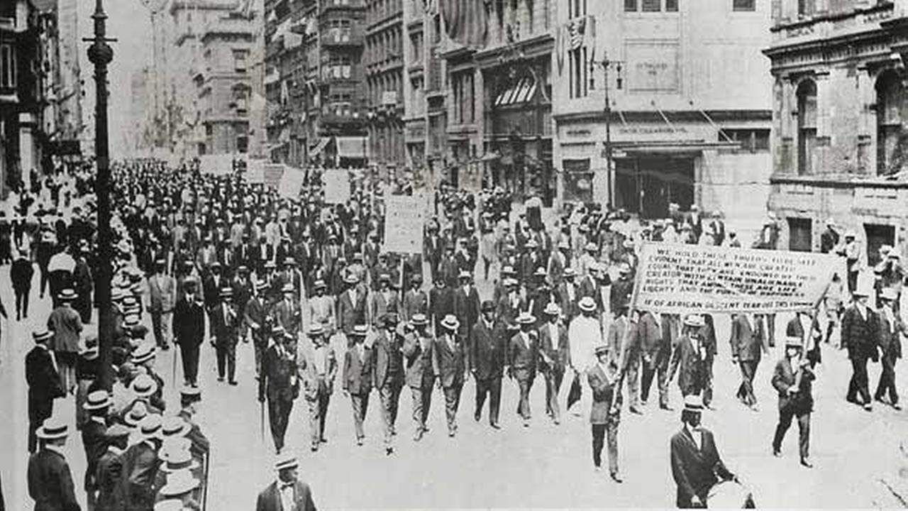 Black History Month: The Silent Parade of 1917
