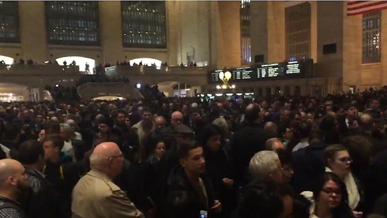 Massive delays during evening commute frustrate Metro-North riders