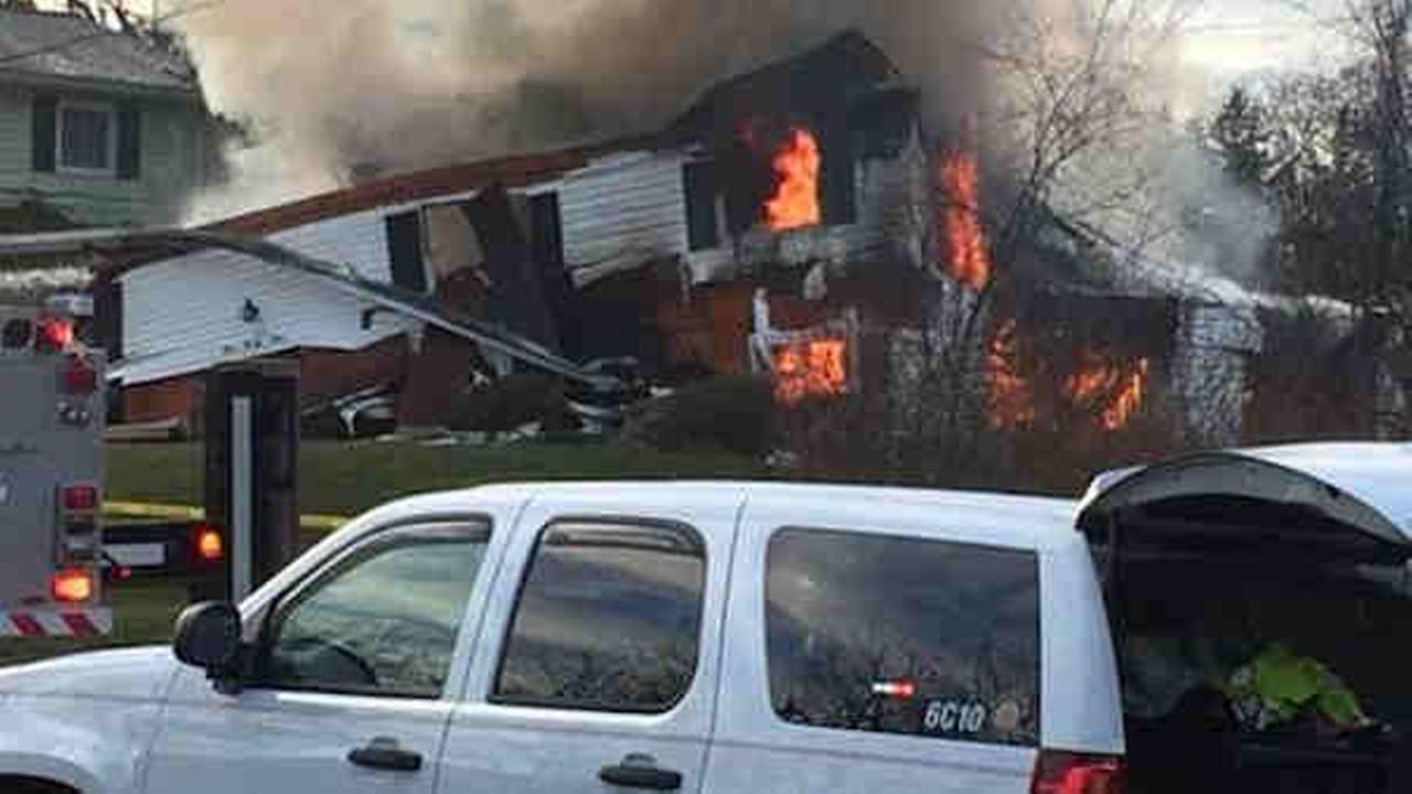 Explosion rips through home in Henrietta, NY; no injuries