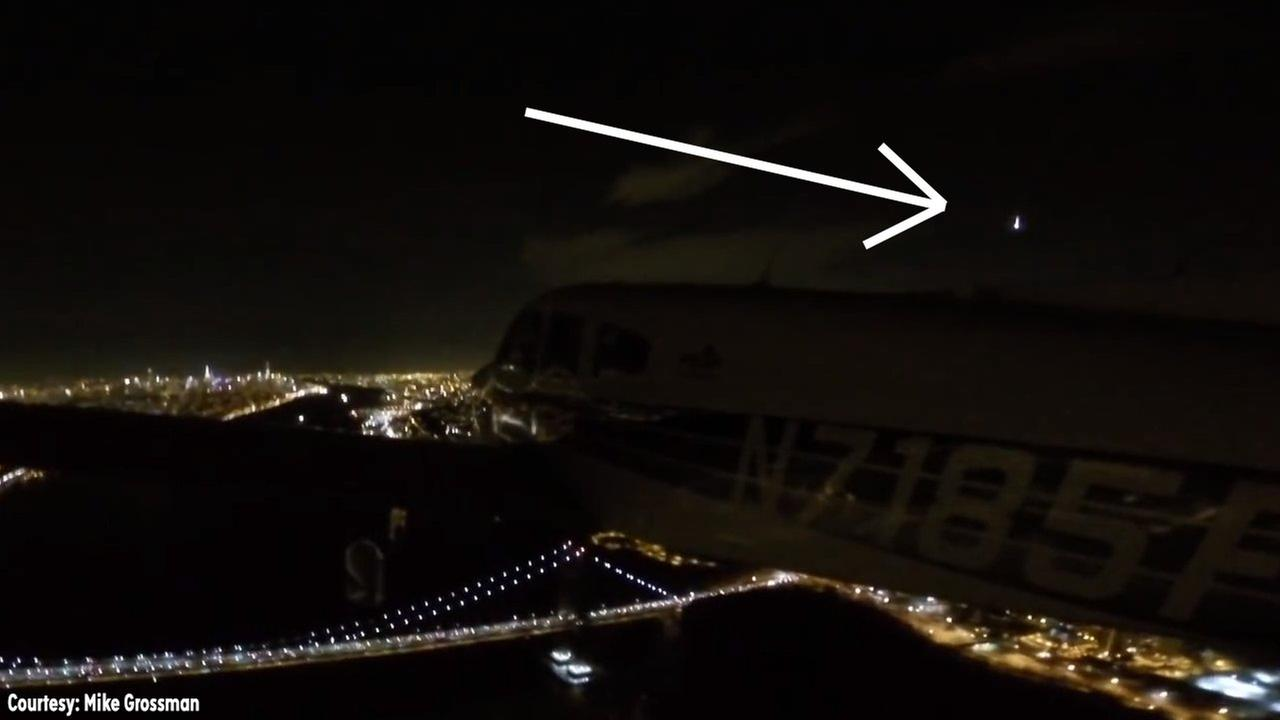 WATCH: Pilot captures video of shooting star