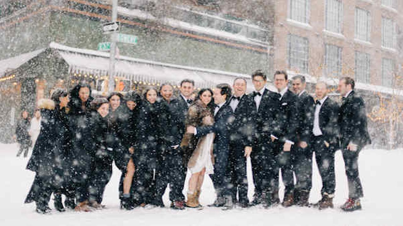 Snow-uptuals: Blizzard forces couple to push Brooklyn wedding back 1 day