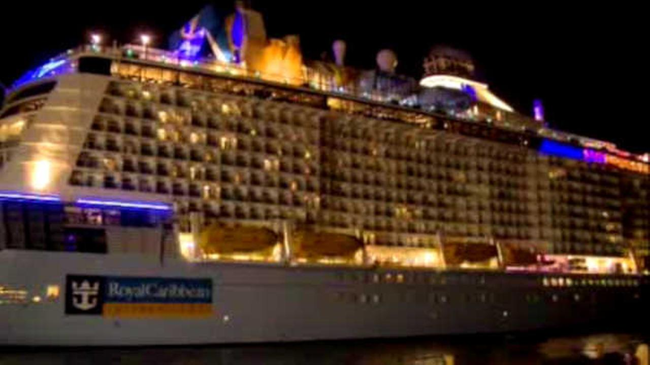 WATCH: Time lapse video of Royal Carribean ship getting battered by storm