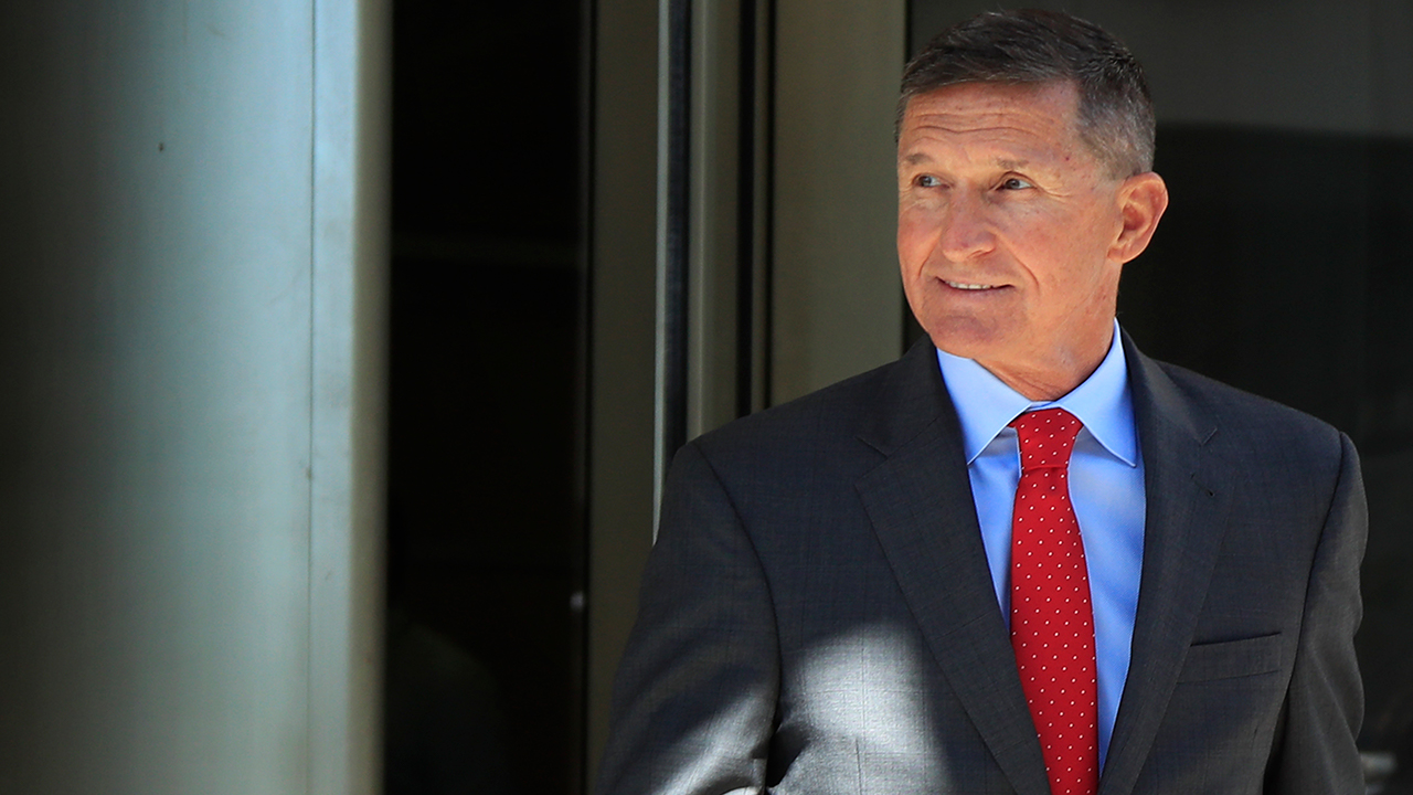 Former Trump national security adviser Michael Flynn leaves federal courthouse in Washington, Tuesday, July 10, 2018, following a status hearing.