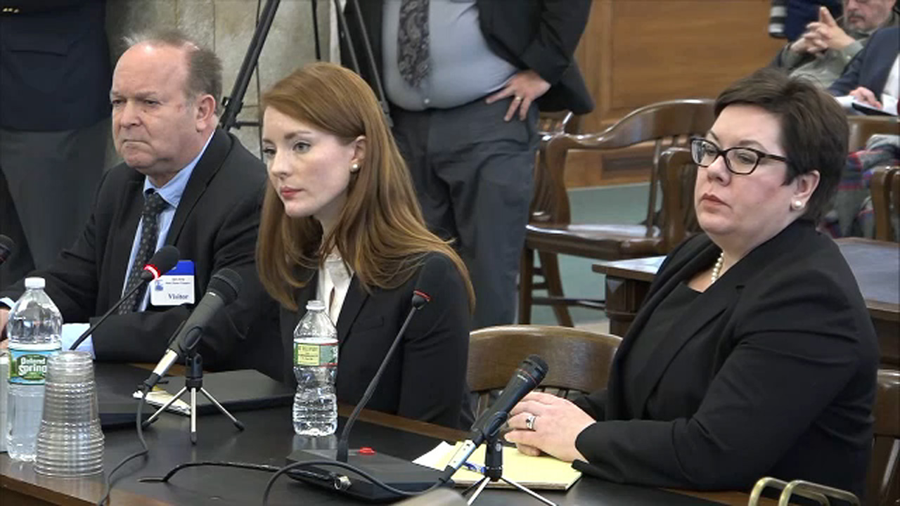 State employee sues New Jersey, man she accuses of sexual assault