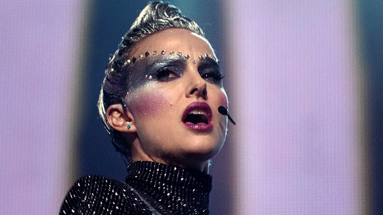 This image released by Neon shows Natalie Portman in a scene from Vox Lux.