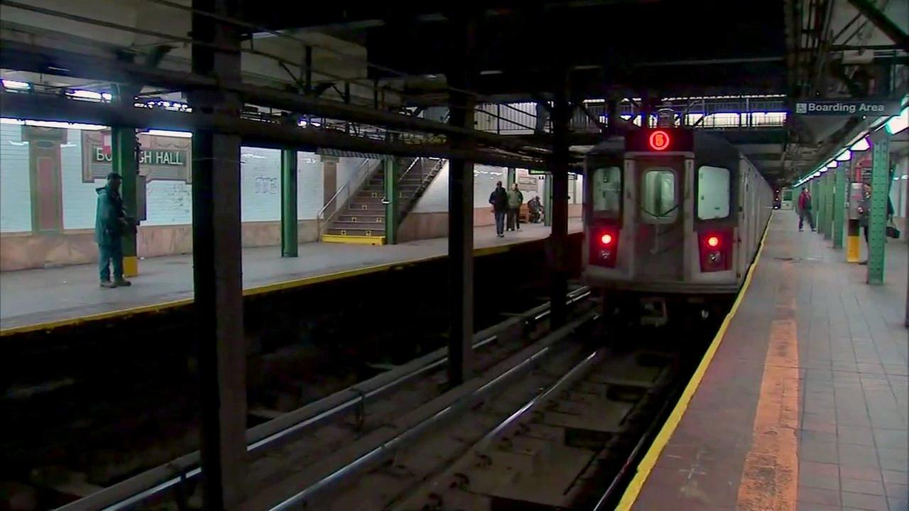 Woman fought off homeless man who tried to shove her onto Brooklyn subway tracks, police say