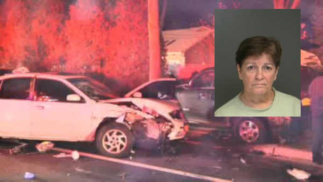 Woman charged with leaving scene of fatal car crash in Medford, Long Island