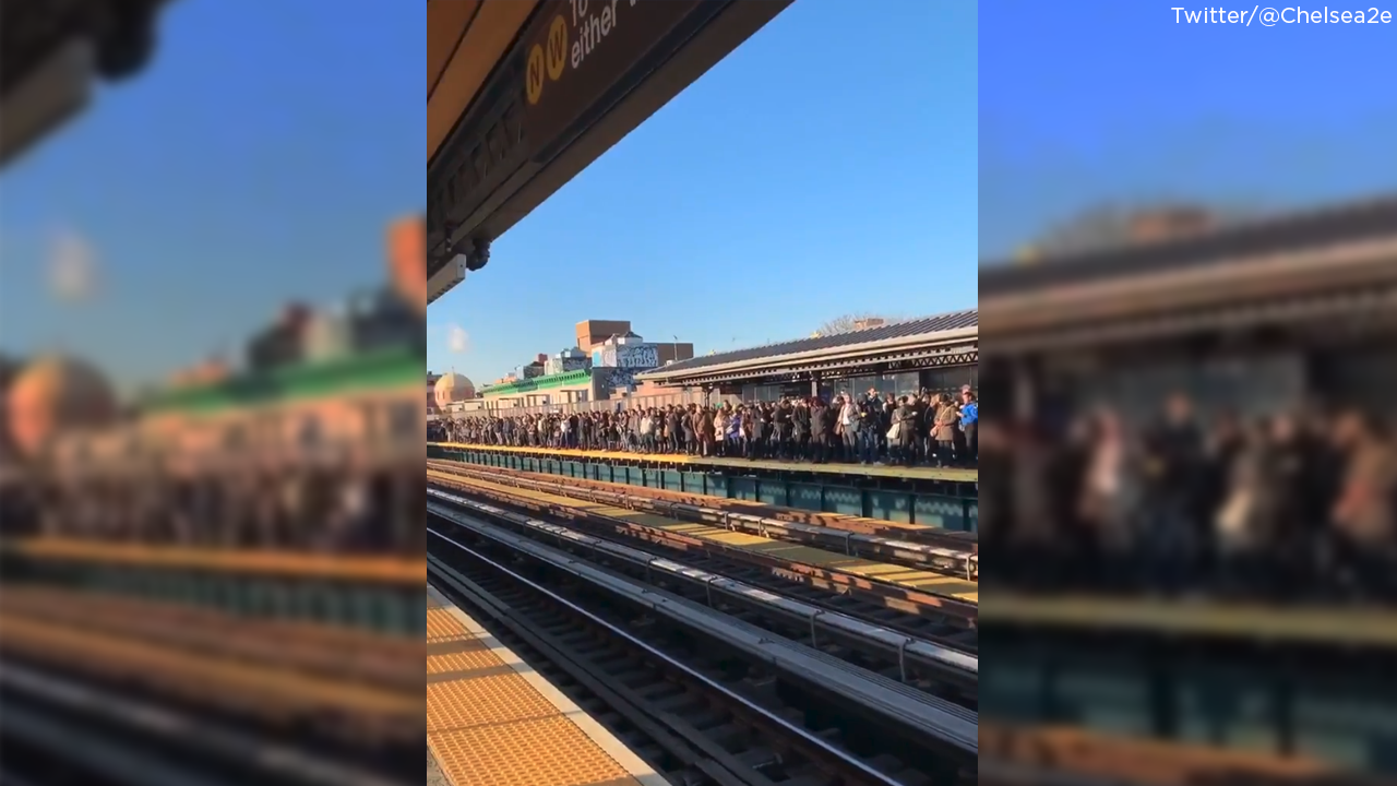 Subway switch troubles lead to nightmare commute in Queens