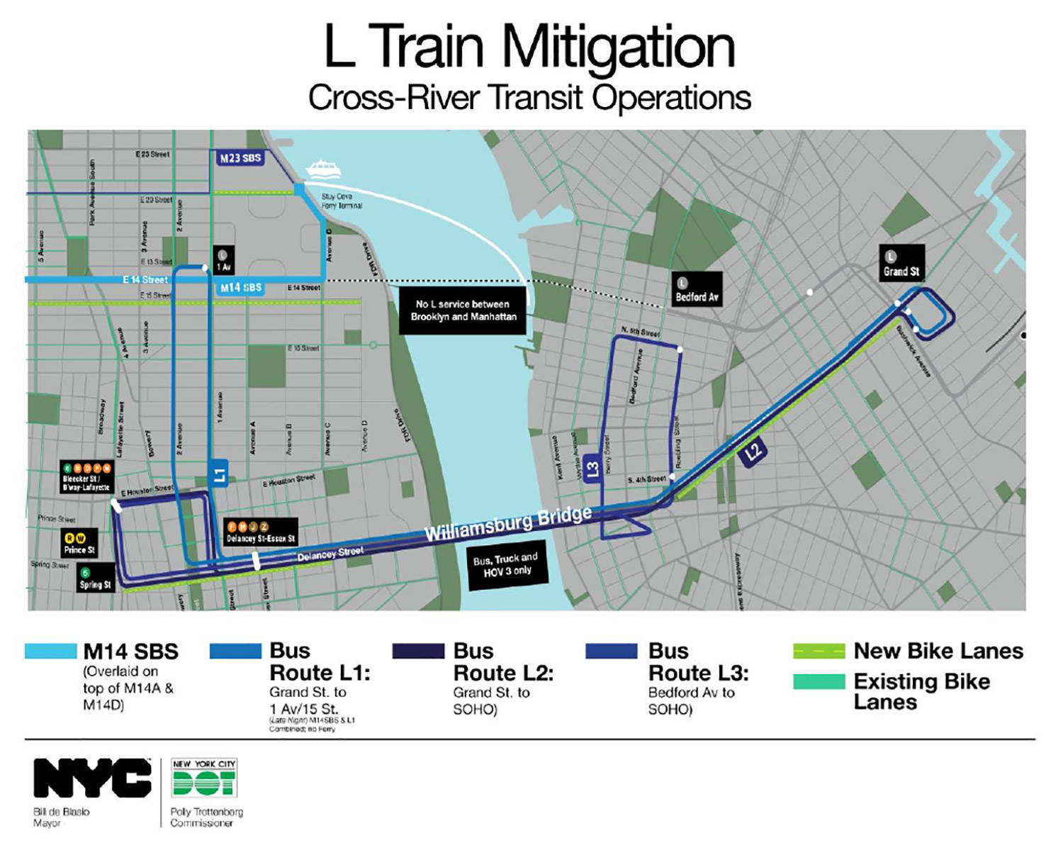 L Train Riders Here Are Your Options For Alternative Transit During