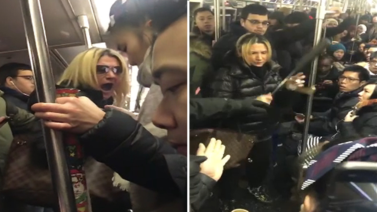 Woman charged in apparent violent, racist tirade in NYC