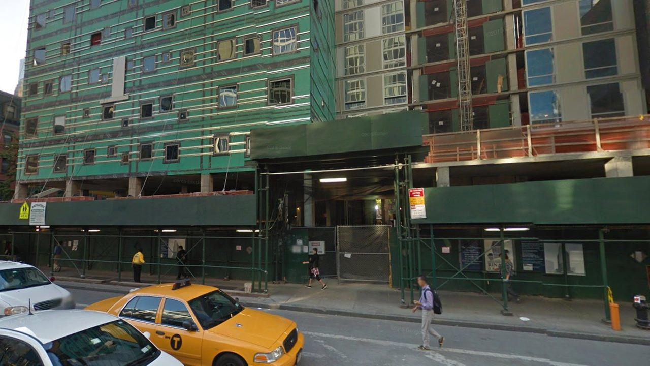 3 construction workers overcome by fumes at Midtown hotel site