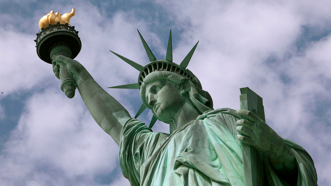 In this June 2, 2009 photo, the Statue of Liberty is seen in New York harbor.