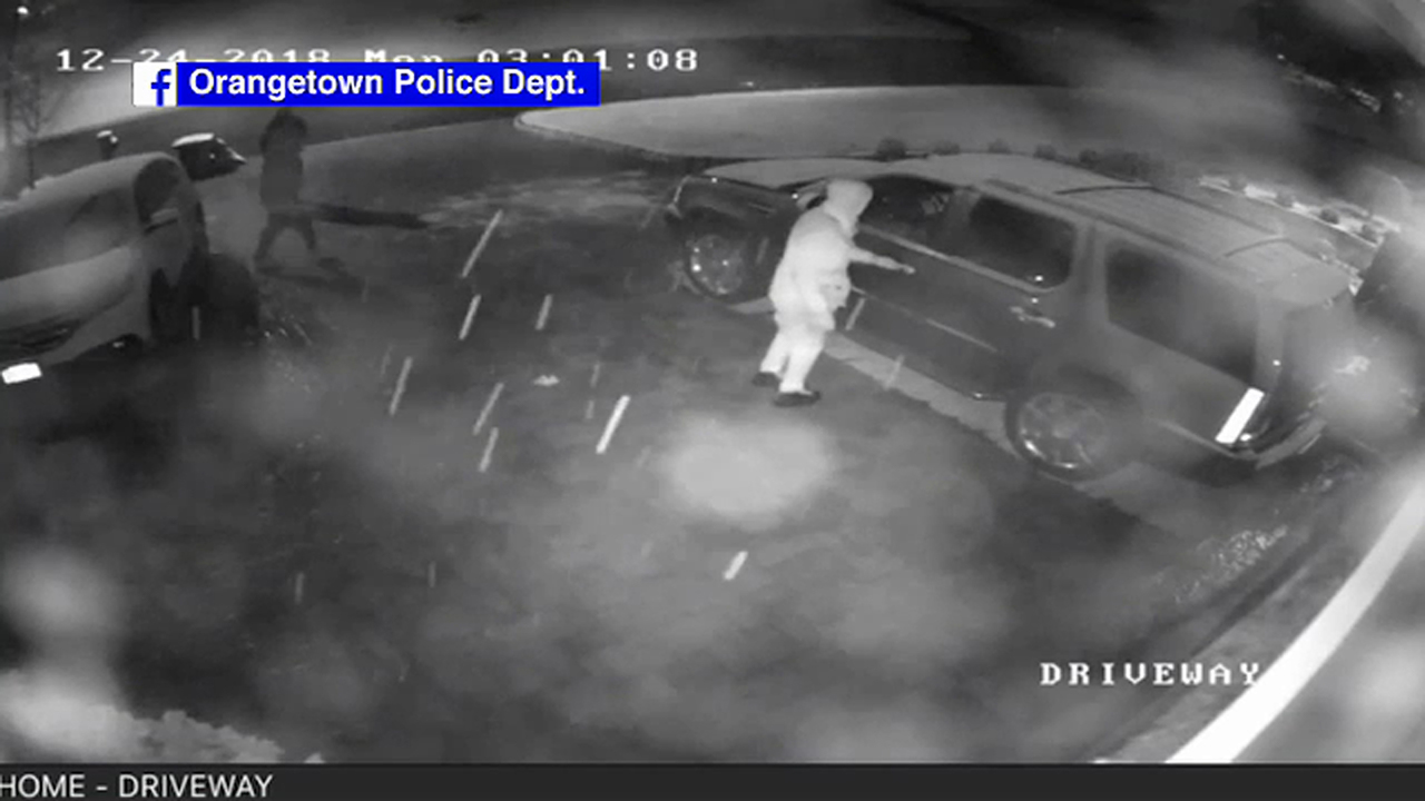 Thieves target unlocked cars in Pearl River on Christmas Eve